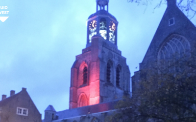 #RedWednesday 2020: St.-Gertrudiskerk in rood