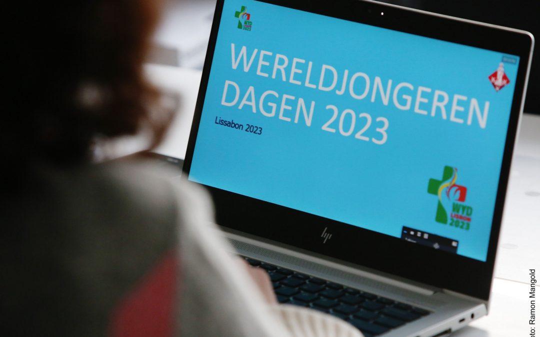 Online jongerenontmoeting op weg naar de WJD