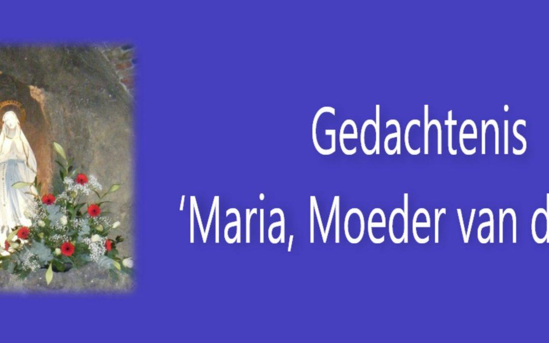 Gedachtenis 'Maria, Moeder van de Kerk'