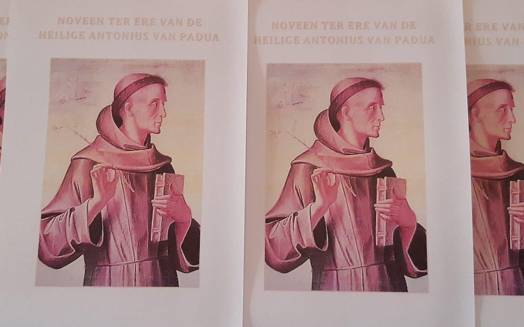 Noveen tot de heilige Antonius van Padua