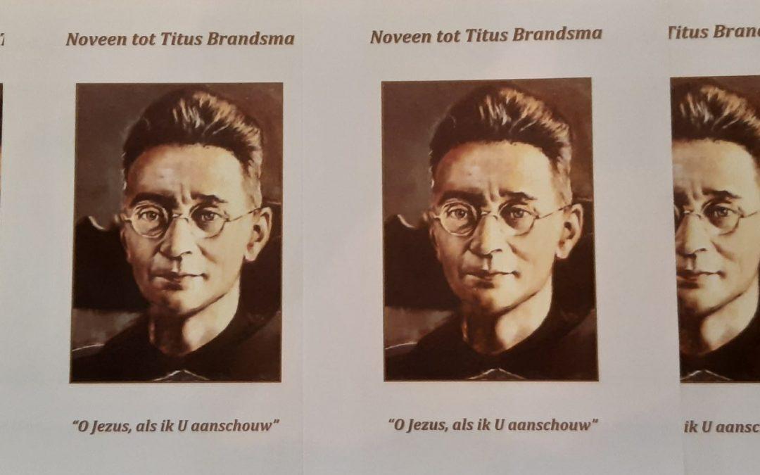 Noveen tot Titus Brandsma