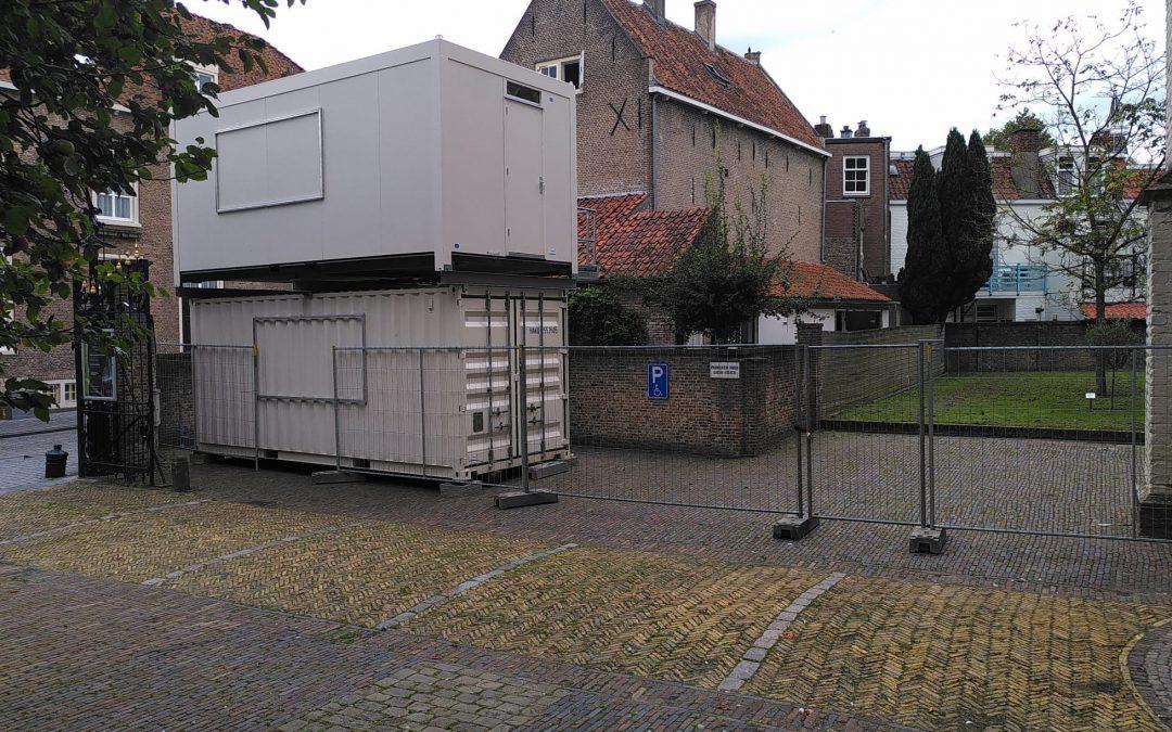 Beperkte parkeergelegenheid bij St.-Gertrudiskerk tijdens restauratie Peperbus